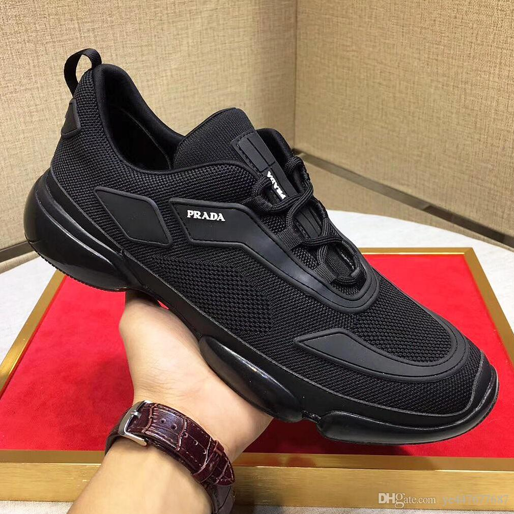 2019 New Men'S Casual Shoes High Quality Men'S Sports Shoes Men'S Fashion Shoes Leather Insoles Superstar With The Paragraph Wedges Shoes White Shoes Prada Trainers Dhgate Shoes