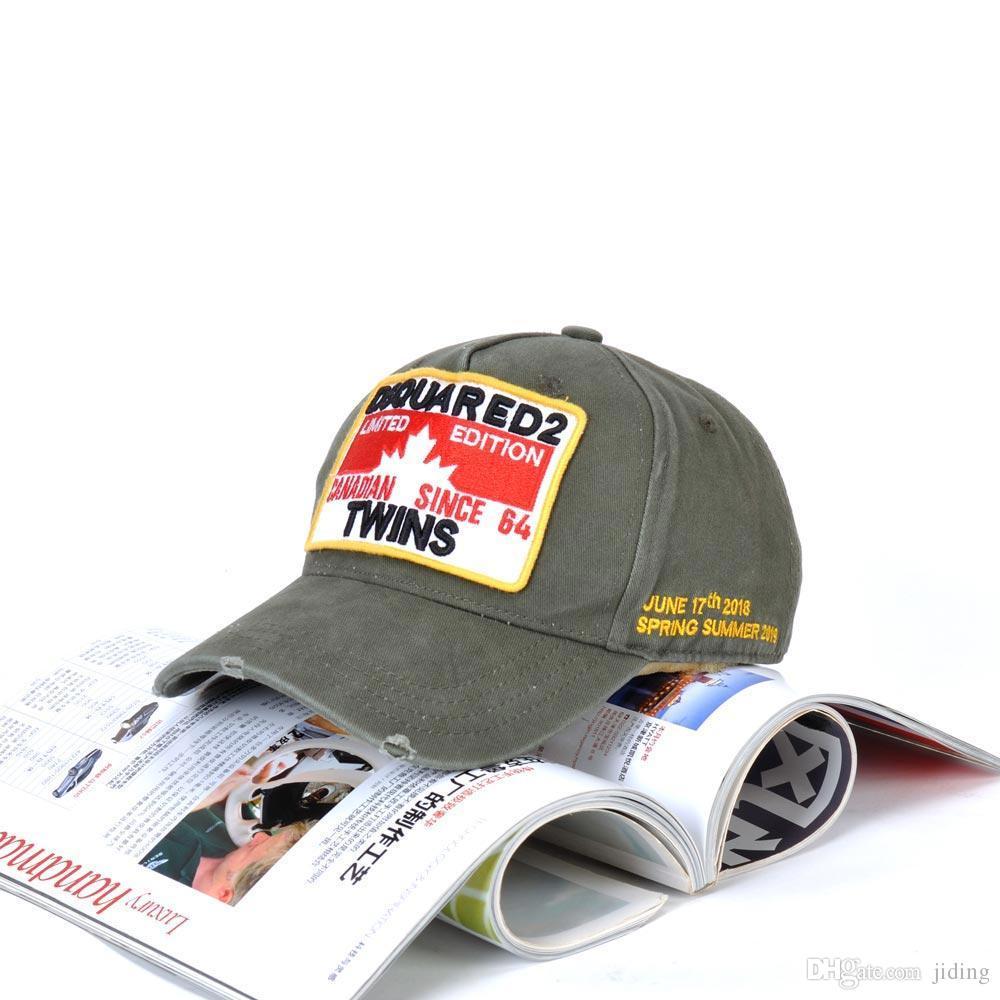 ATLETICA ACCS ACCS Algodón Ajustable Letras de cabeza bordadas Snapbacks Deportes Caps Headwears Hombre y Base Baseería
