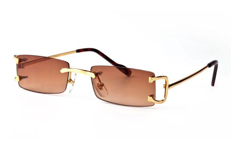 Occhiali New Brand Sunglasses Style Casual Donne per uomini Designer Outdoor Sun Buffalo Horn Alla moda 202 LPAUF