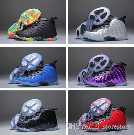 Penny Hardaway kids basketball shoes Pippen Duncan Infant Sports sneaker boy and girl children Toddler Trainer