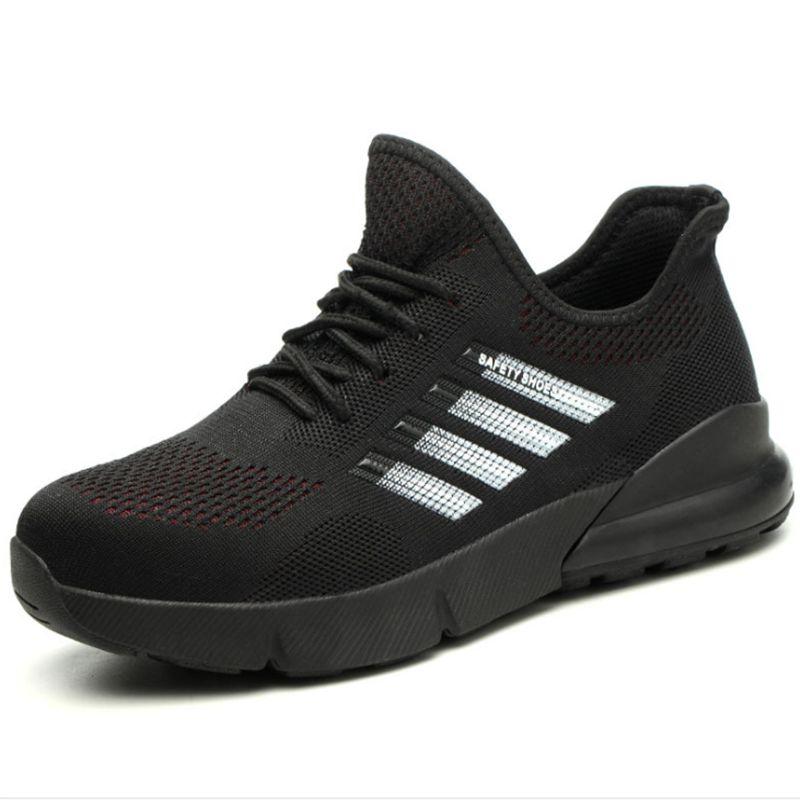 Plus Size 36-46 Bottes de travail Hommes de sécurité Chaussures unisexe travail Chaussures Homme Bottes de haute qualité en acier Toe sécurité Sneakers Designer