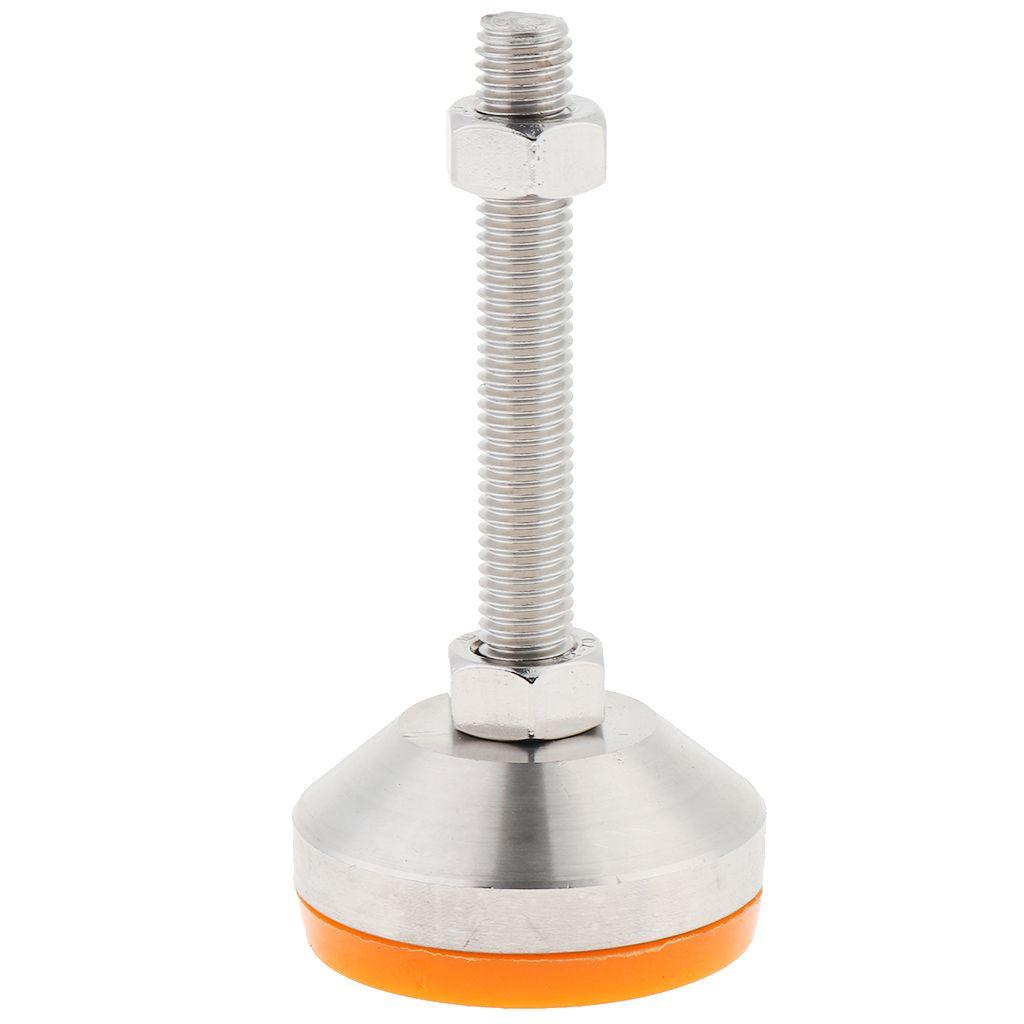 8 Stainless Steel Anti Skid Adjustable Leveling Furniture Feet