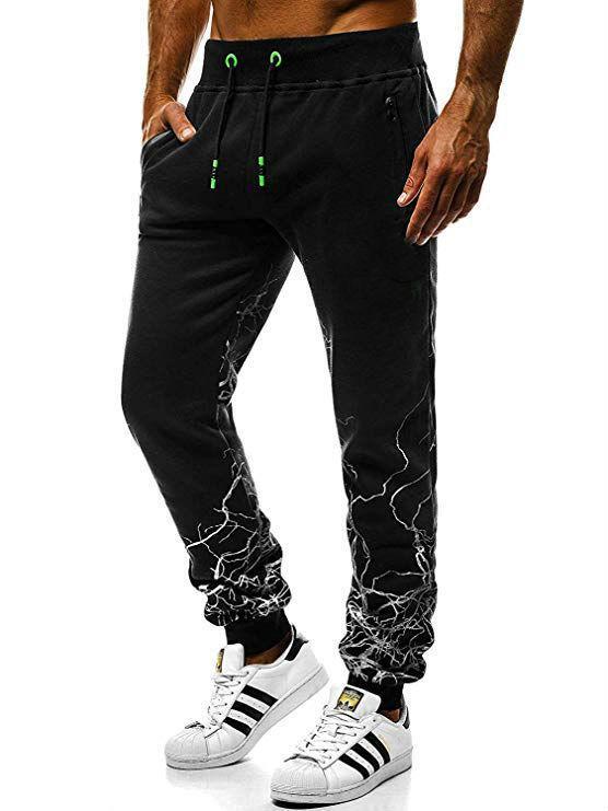 Hot Style de Pantalons de sport pour hommes occasionnels européens et américains de changement progressif Hip-hop Slim Pantalons pour hommes