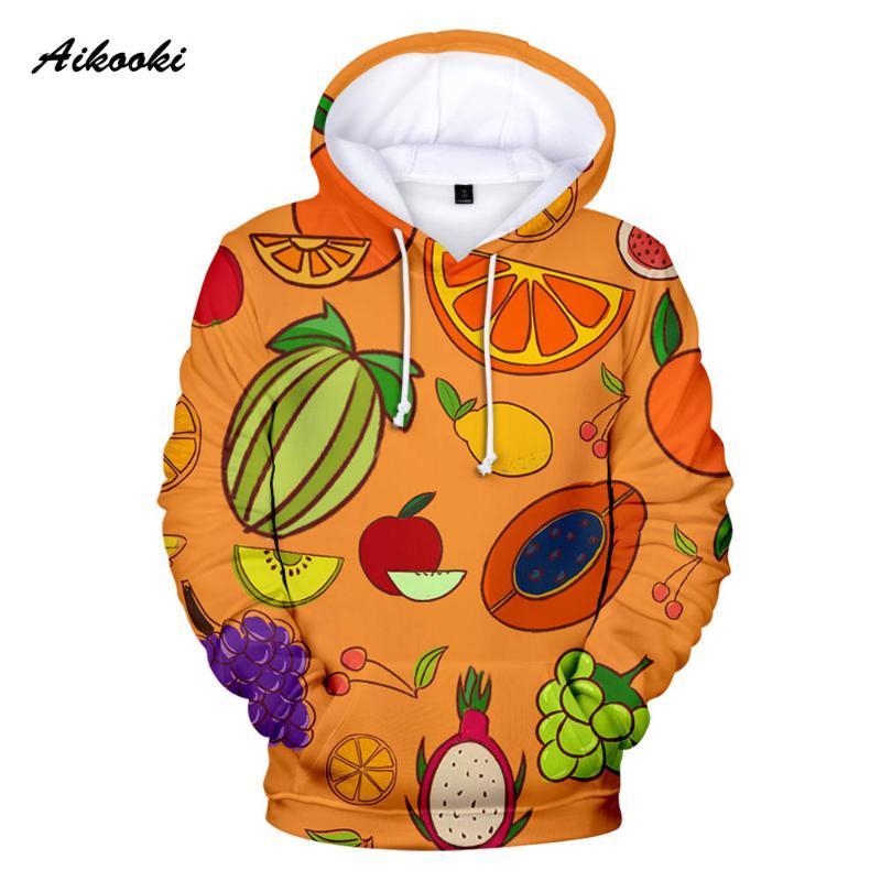 Fruit 3D Hoodies Hommes Femmes Casual capuche à capuche pour hommes Funy fruit doux Polluver Brand Design Hommes Sportwear Sweats à capuche 3D