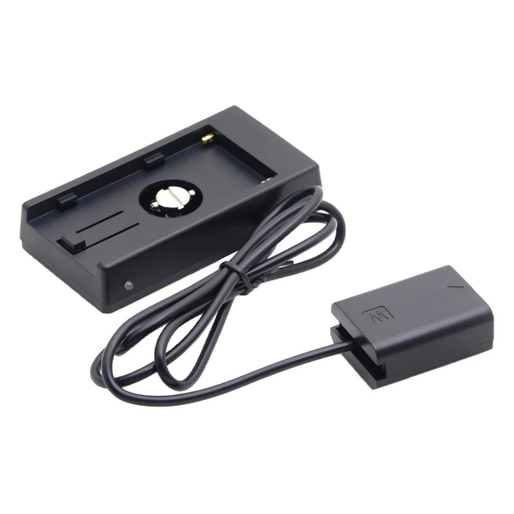 배터리 어댑터 마운트 플레이트 전원 공급 장치 NP-F970으로 NP-FW50 소니 A5100