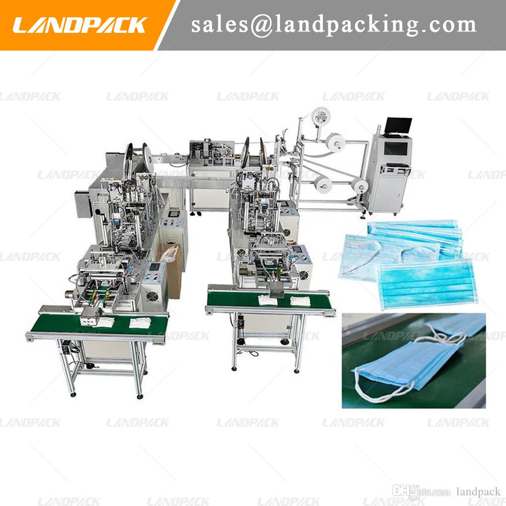 Disposable Mask Making Machine, Automatic Multifunction Mask Producing And Packaging Machine
