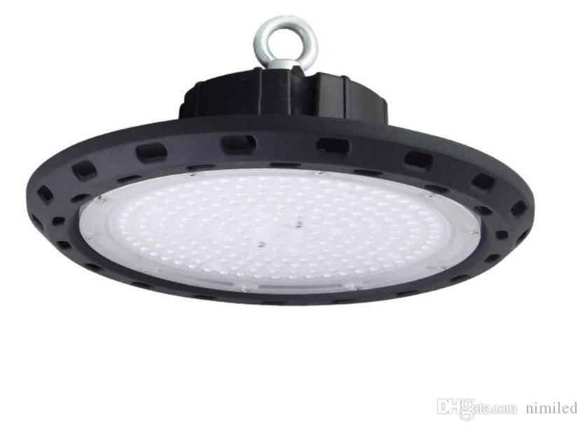 UFO High Bay LED 50W 100W 150W 200W 250W AC100V-240V LED della luce di inondazione IP65 alluminio impermeabile Mining Highbay lampada LLFA