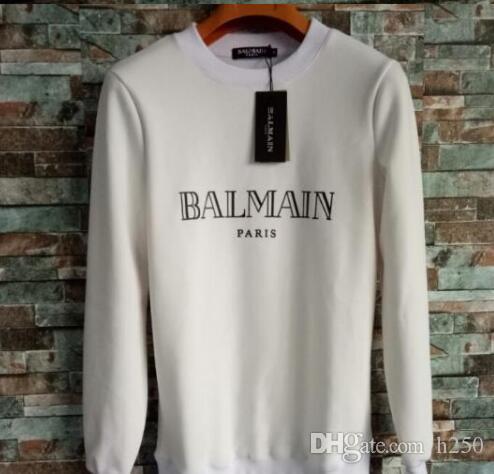 2019 Designer Men Hoodie Sweatershirt Maglione Mens Hoodies Abbigliamento sottile a maniche lunghe Gioventù Movimenti Streetwear