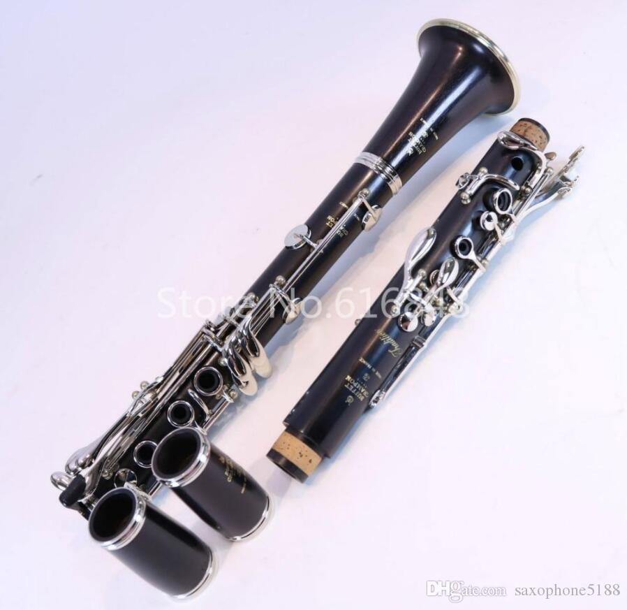 Шведский стол Tradition BC1216L-5-0 мелодия высокого качества кларнет Дерево / бакелит Материал корпус 17 Ключи Инструмента кларнет с футляром