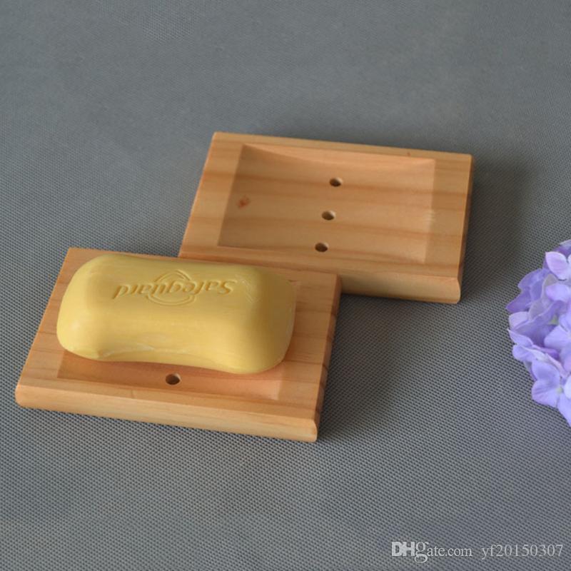 Jabonera Jaboneras naturales Cajas de madera Jabonera Baño Ducha Almacenamiento Soporte Placa Soporte