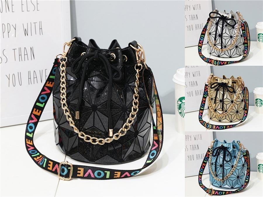 Designer-nuovo disegno di modo trasparenti Crossbody Borse Messenger Bag Jelly Piccolo femminile casuale Borse Cancella borsa a tracolla # 733
