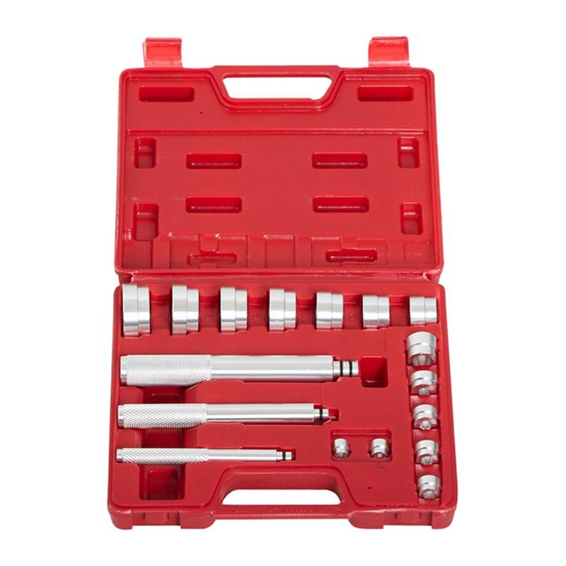 17PCS 베어링 레이스; 인감 드라이버 마스터 도구 세트 알루미늄 휠 차축 설정 NEW