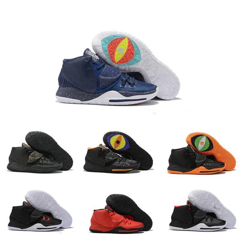 vendita calda nuova moda in bianco e nero scarpe da basket rosso 6S scarpe sportive di basket maschile tripla formato 40-46