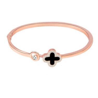 2019 gioielli di lusso progettista Rosa braccialetti d'oro per le donne trifoglio bracciali bracciale aperti moda calda gratuita di shipping1564890646435156156484df3 #