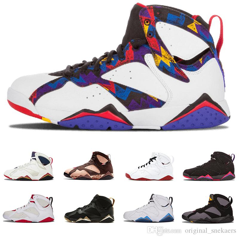 JD 2019 7 Basketball Shoes Men Women 7s