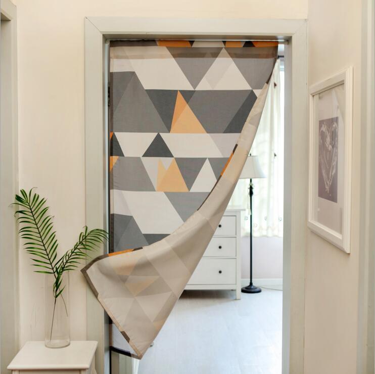 Fyjafon дверь занавес напечатанный занавес двери дверной проем на кухне пол пробка домашнее украшение 60X200cm/70X200cm/80х200см