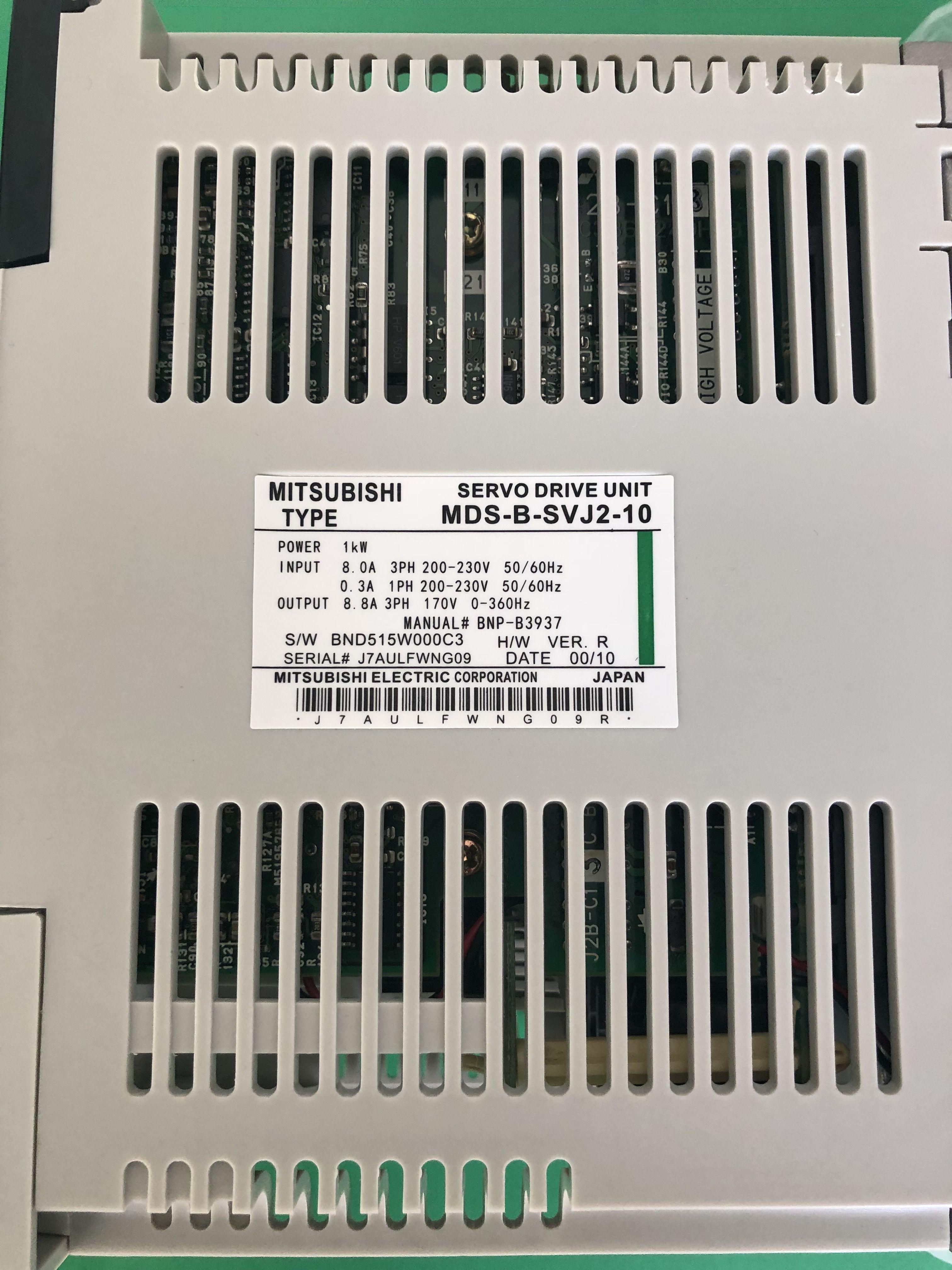 2019 One Mitsubishi Servo Drive MDS B SVJ2 10 Used Test OK Free Expedited  Shipping From Thirteenjiang, &Price