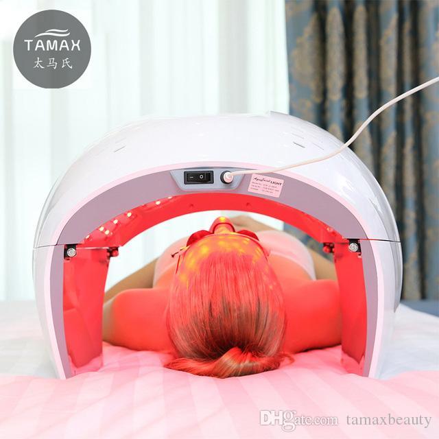 Tamax PDT LED Lampe de thérapie à photons Facial Body Beauty SPA PDT Masque Peau Serrer Acné Rides Remover Dispositif salon équipement de beauté