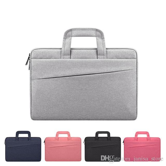 Сумка для ноутбука Покрытых полиэфирного материала сумки для ноутбука Apple Mac 15,6 дюймов выставка чувствовала мешок пользовательской LOGO