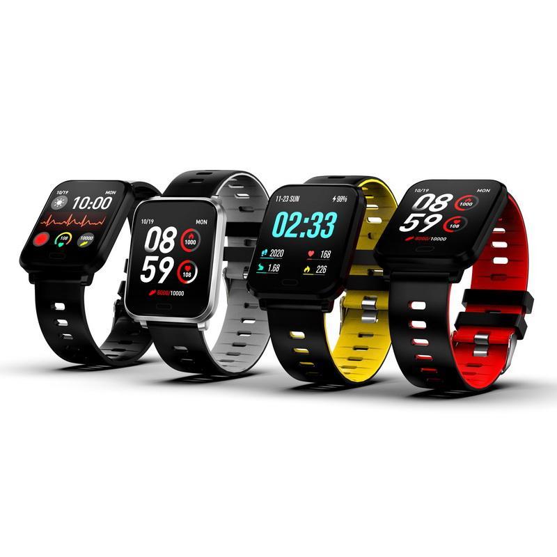 K10 Smart Watch IP68 Waterproof Smartwatch Men Heart Rate Monitor Blood Pressure Fitness Tracker Smart Bracelet Smart Band for IOS android