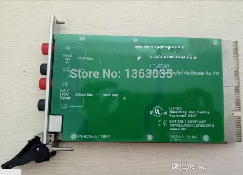 Trabajo 100% probado Perfecto para la tarjeta DAQ PXI-4060 para NI 4060 Multimnter digital 5-1 / 2 para PXI