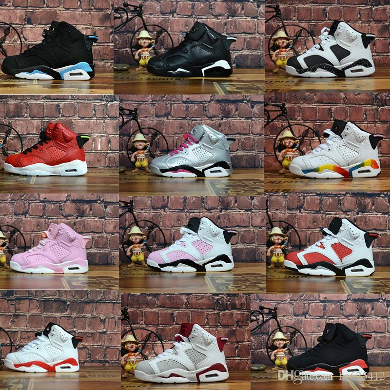 INFRARED TD 6s Kids Basketball Shoes