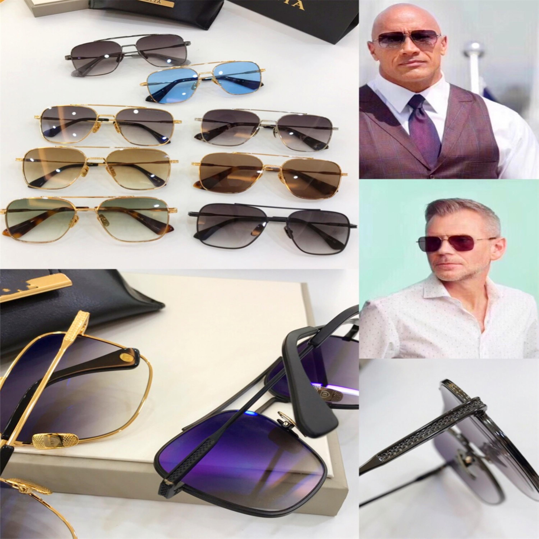 Los nuevos hombres del diseñador de la vendimia gafas de sol gafas de sol de Nueva York vapor cuadrado estilo punky marco gafas lente UV400 protección al aire libre [007]