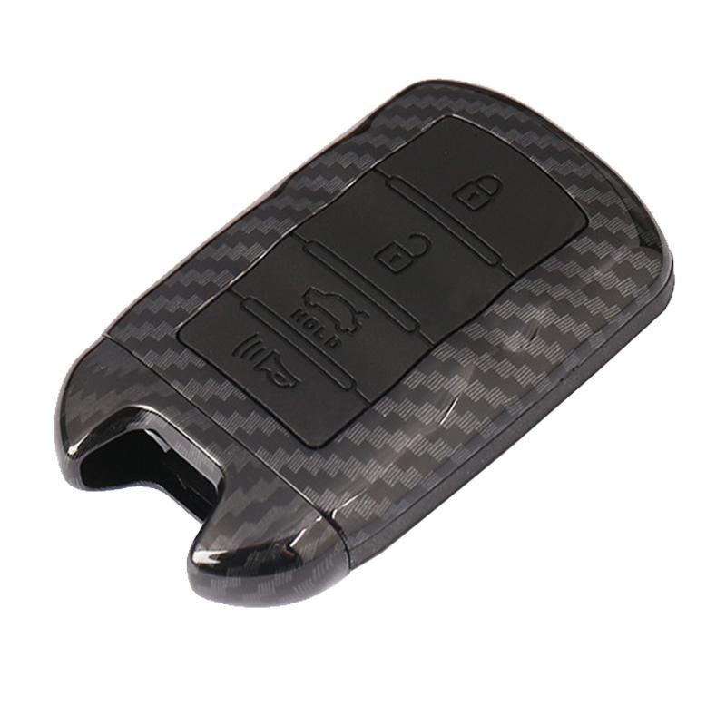 Smart à distance Fob Key Case Cover Shell en fibre de carbone Look For KIA K9 Cadenza Smart Jacket à distance K7 Key Case voiture de coiffure couverture