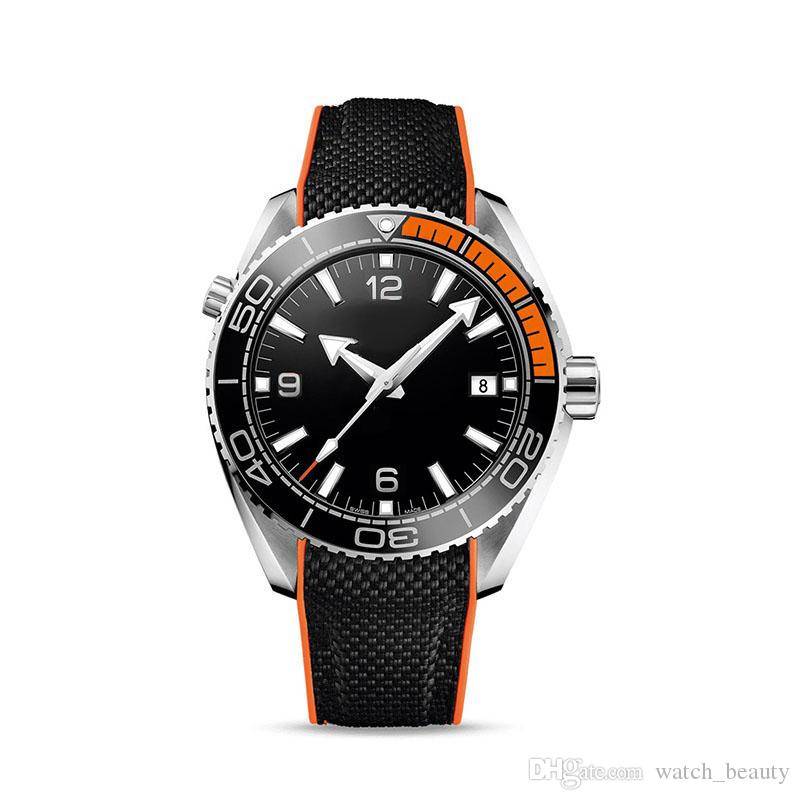 2019 relojes para hombre de nylon correa de nylon calendario fresco reloj de pulsera moda hombre de lujo reloj al por mayor