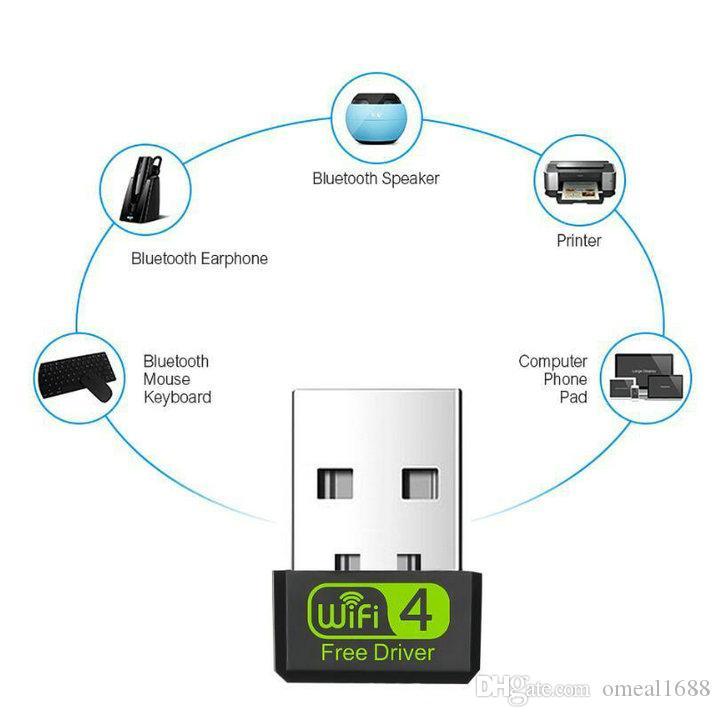 بطاقة 150Mbps لحر سائق USB واي فاي محول RTL8188GU 150M شبكة واي فاي استقبال 2DB دونغل إيثرنت لXP / يستع / WIN7 / 8 / 8.1 / 10