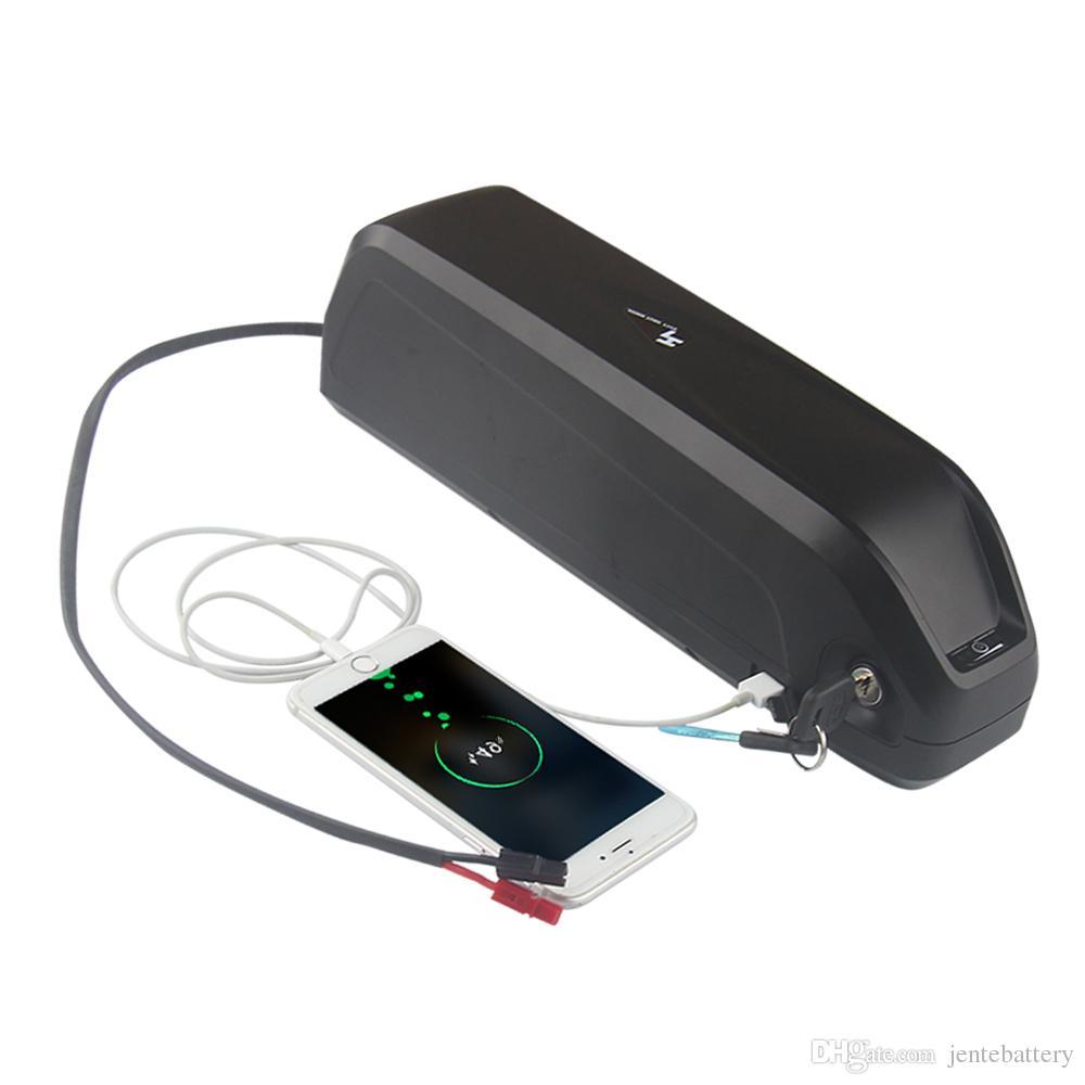 Spedizione gratuita ad alta capacità 36 V 20Ah Hailong batteria agli ioni di litio bicicletta elettrica 18650 A celle per 350 W / 500 W motore + BMS + Charger3A