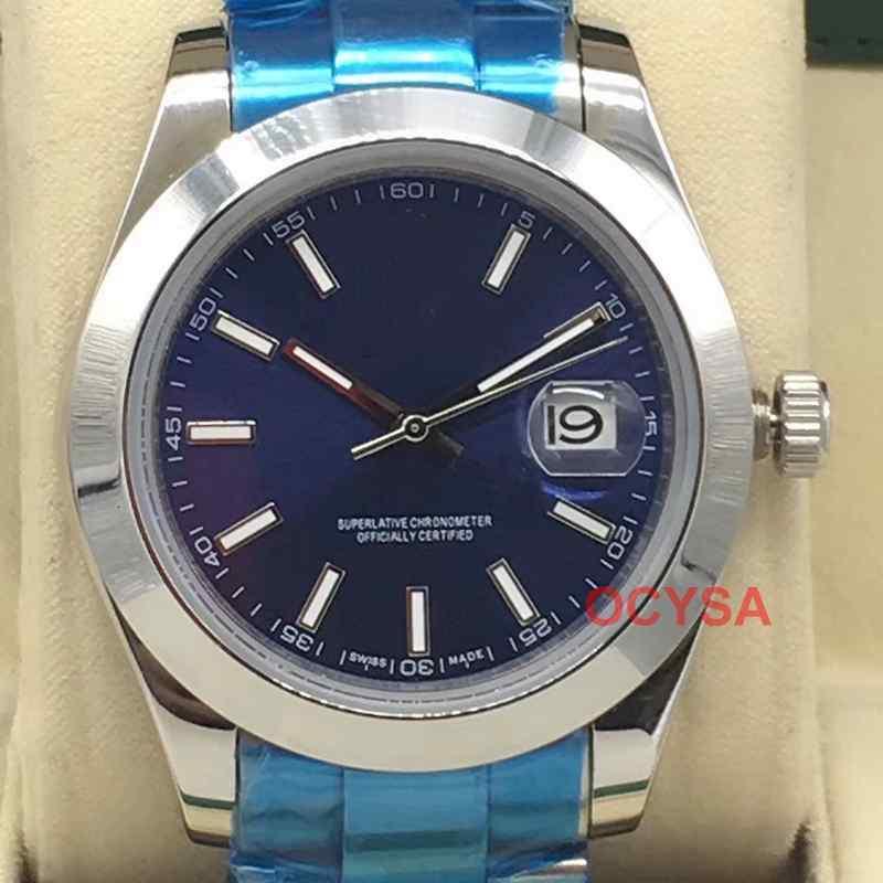Fashion di lusso Datejust Mechanical Automatic Movement Movement Tag Lady GMT Uomo Mens Designer Master Guarda orologi da polso Orologi Uomo Montre 2020