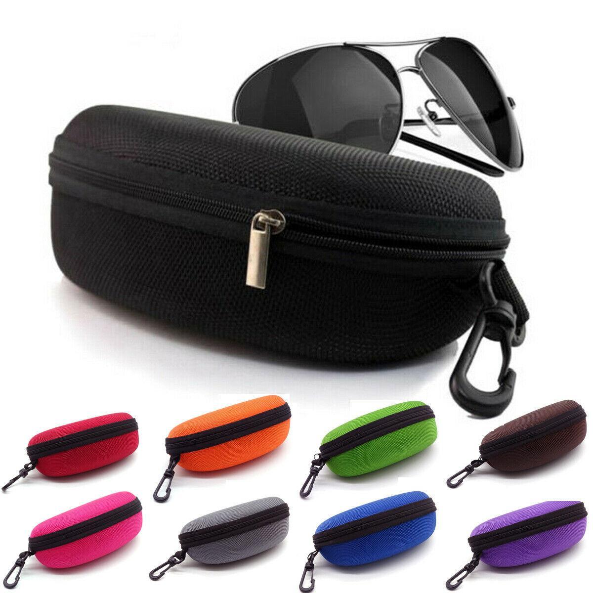클래식 추세 아이 안경 선글라스 하드 지퍼 케이스 커버 가방 옥스포드 천 스토리지 박스 휴대용 보호 안경 액세서리