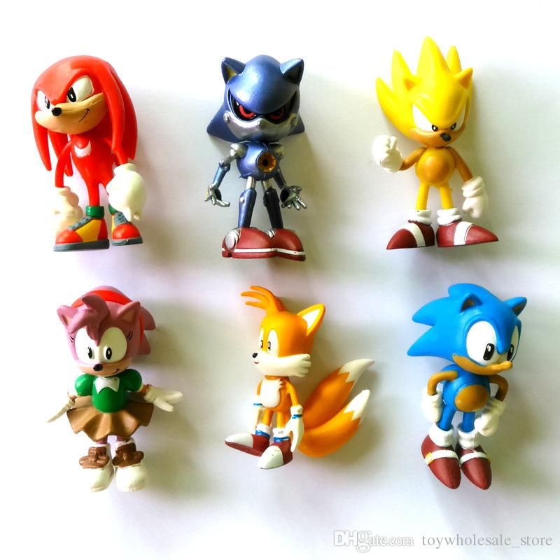 2020 Sonic The Hedgehog Action Figures Toy Sonic Anime Characters Figure Toys C4331 From Toywholesale Store 3 43 Dhgate Com