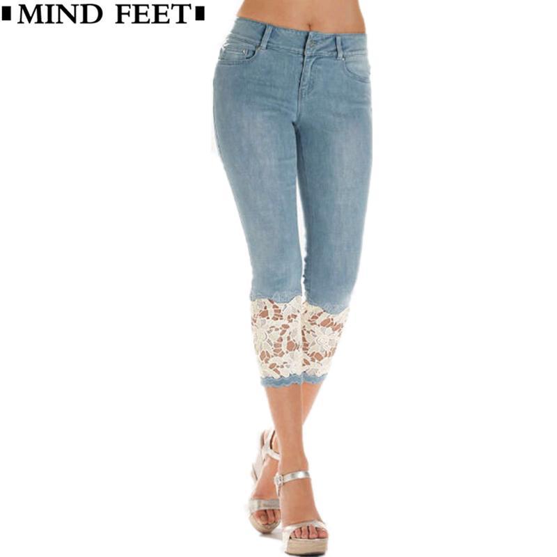womens slim cotton  spandex skinny capri pants