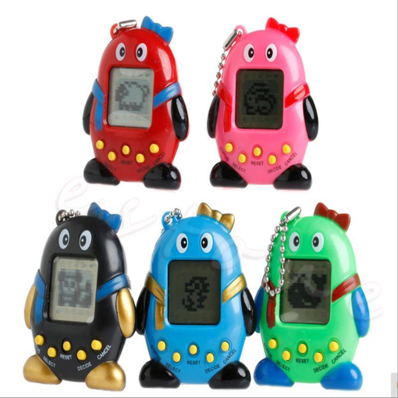 Dom- 5 do Natal Estilo Electronic Animais Tamagotchi Crianças Brinquedos multi cibernéticos animais Tamagochi brinquedo para crianças grátis DHL TTK03d