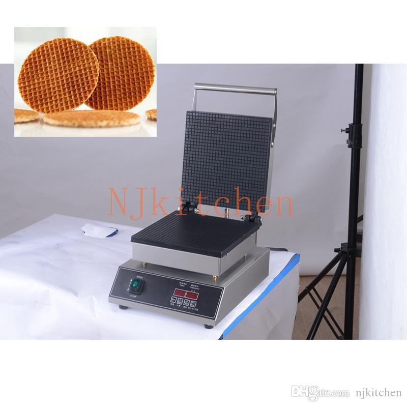 HT19Q 40cm Big Taille unique tête Pancake machine 220 V 110V antiadhésif Français Crêpe Maker Pan Grill de cuisson Plaque de fer