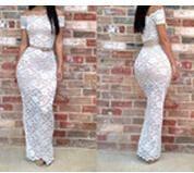 2014 Moda Mulheres Sexy Ladies Prom Dress Perspectiva Lace Insert Bodycon Partido Magro Clubwear Vestido