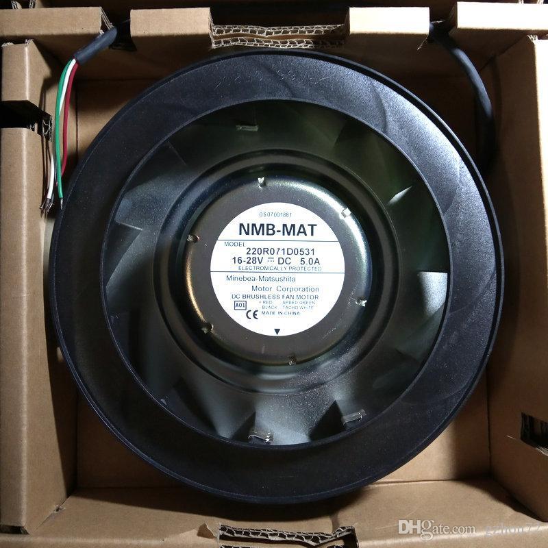 New Original NMB 220R071D0531 DC16-28V 5.0A CT SPMD1403 SPMD1404 para Emerson radiador ventilador de refrigeração