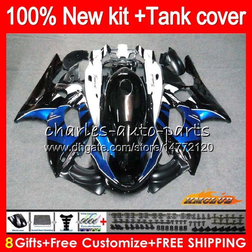 Thundercat YAMAHA YZF 600 R CC 600CC 600R 72HC.36 YZF600R bleu noir de YZF600R chaud 96 97 98 99 00 01 02 03 04 05 06 07 1996 2007 carénages