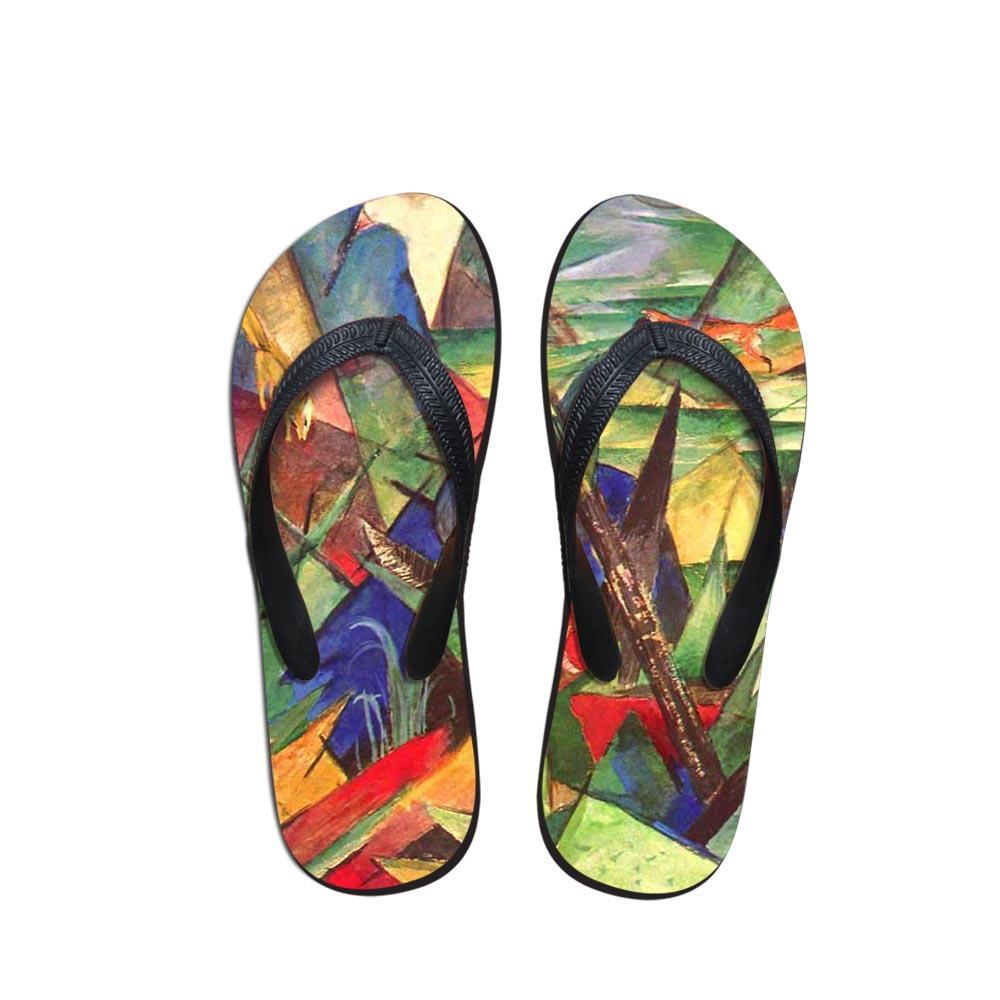 Nouvelle peinture couleur 2019 femmes d'été en plein air intérieur sandales pantoufles plage sandales chaussures casual Vogue Chaussures Femme flip flops