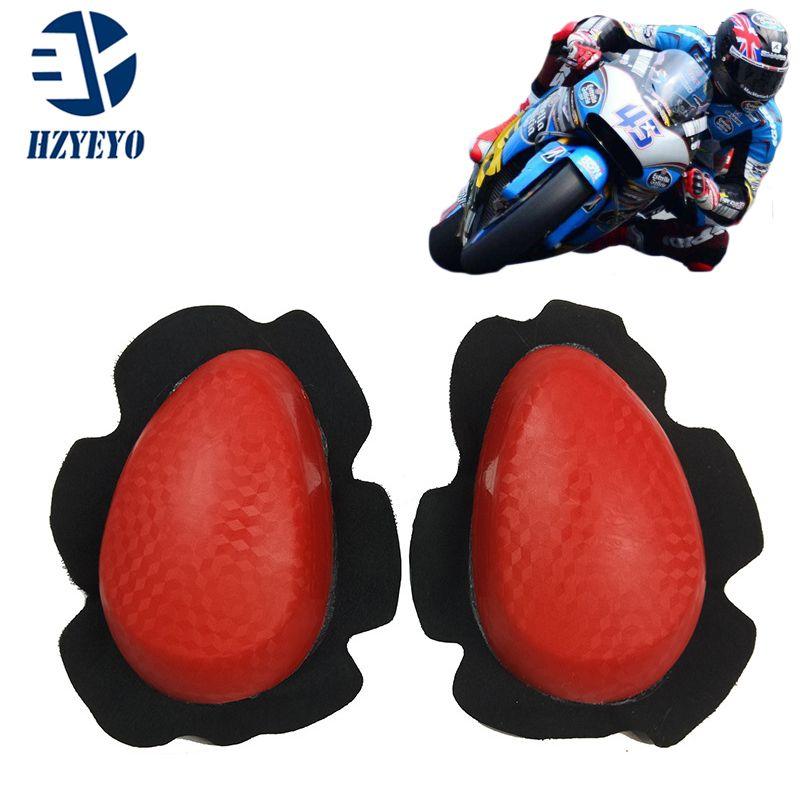 joelheiras motocicleta joelheiras Deslizantes capa protetora Motorcross Mota Corrida Bicicleta Sports protecção engrenagens, HZYEYO, H-508