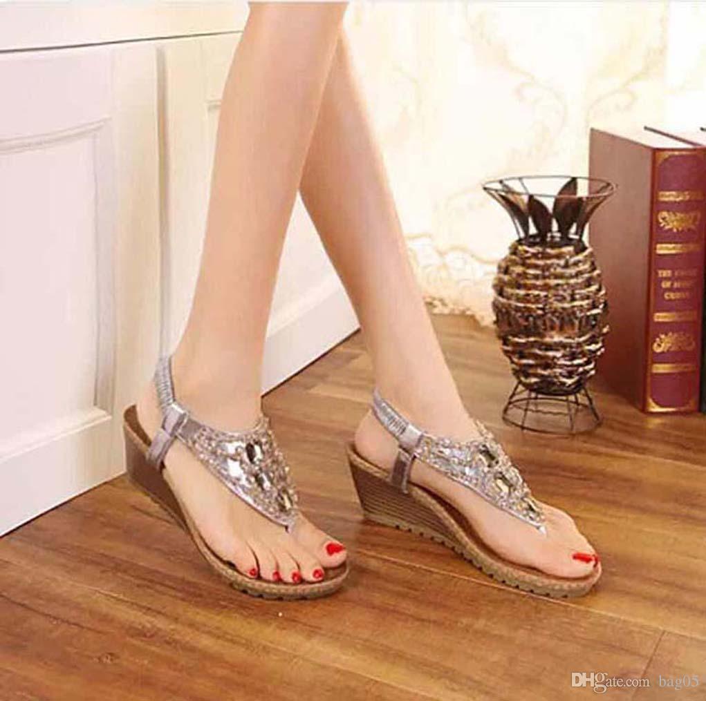 saltos das mulheres calçam sandálias de alta qualidade das sandálias Huaraches dos falhanços Loafers sapato para chinelo bag05 PL1162