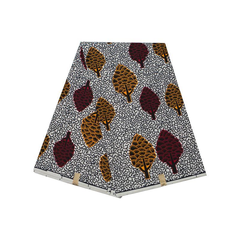 Анкара Африканский полиэстер воск печатает ткань красочный круговой узор высокое качество 6 ярдов Африканская ткань для вечернего платья FP6282