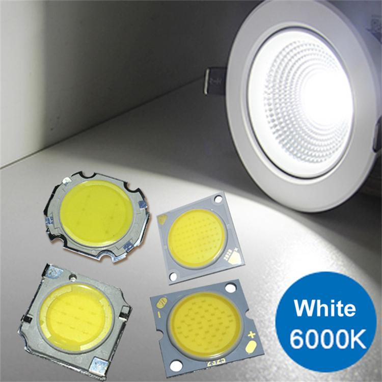 300mA LED COB quadrado chip de luz de alta potência talão 11 milímetros aquecer branco / diâmetro superfície luminosa 20mm, diâmetro exterior 13 milímetros * 13 milímetros 28 * 28 milímetros
