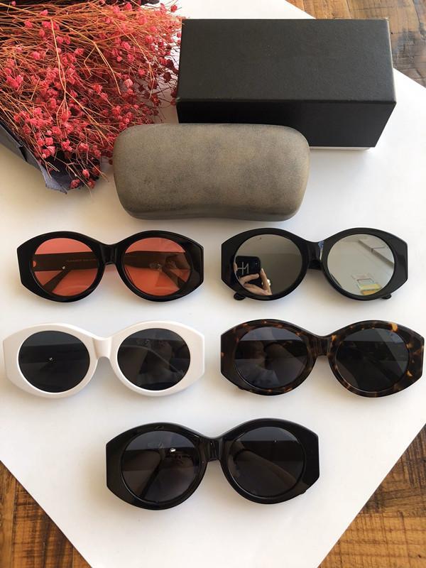 Gafas de sol de lujo para los hombres gafas de sol de la vendimia del marco completo para los hombres del logotipo del oro brillante caliente plateado Top 02858