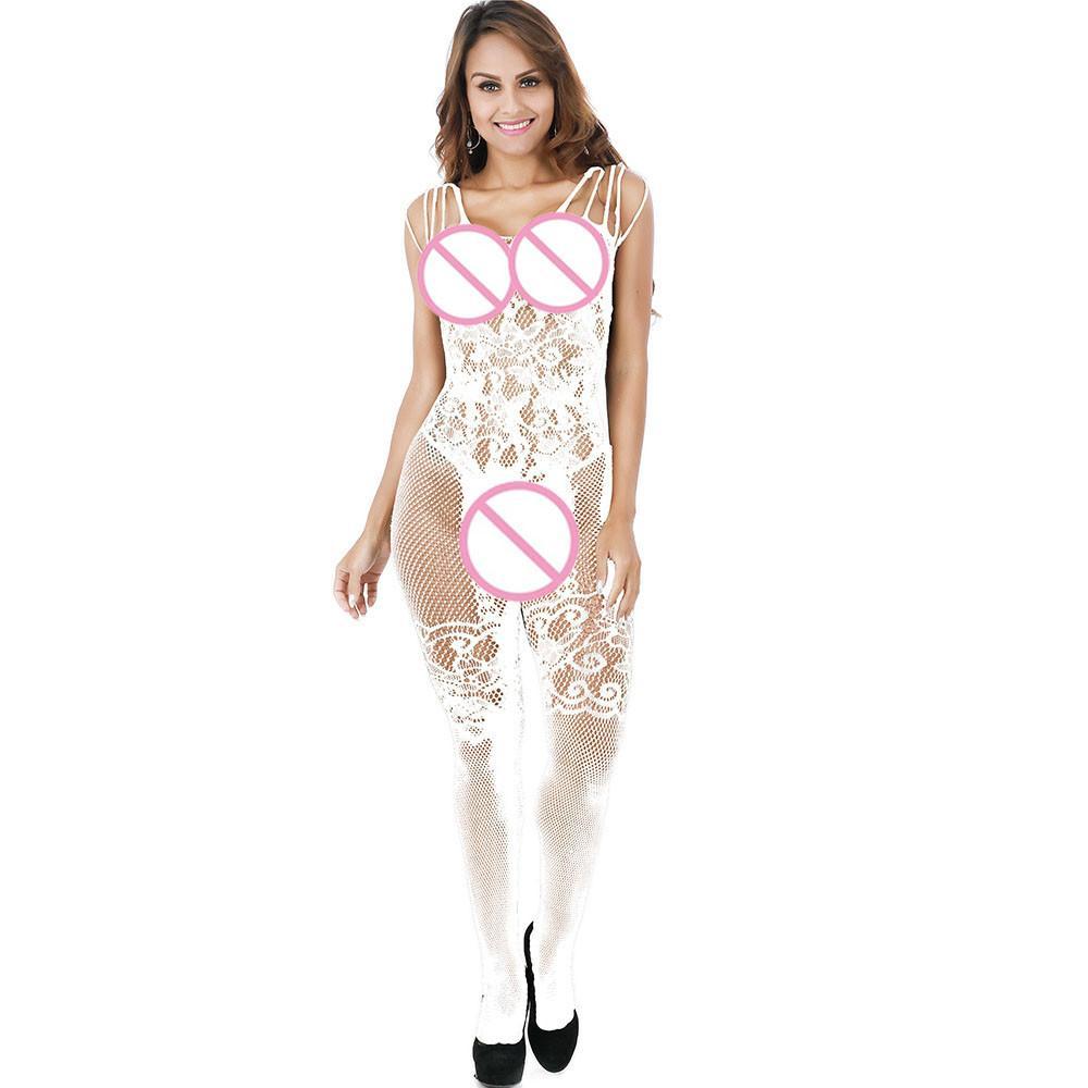 Сексуальные женские кружева ажурные платья Bodysuit Белье Ночное белье Babydoll пижамы Bodystockings Кимоно 2019 намекает