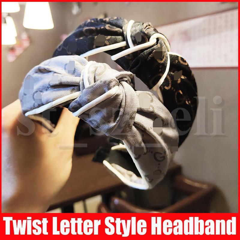 bandas G Carta seda Cruz diadema muchacha de las mujeres elásticos del pelo retro turbante headwraps regalos Accesorios para el cabello
