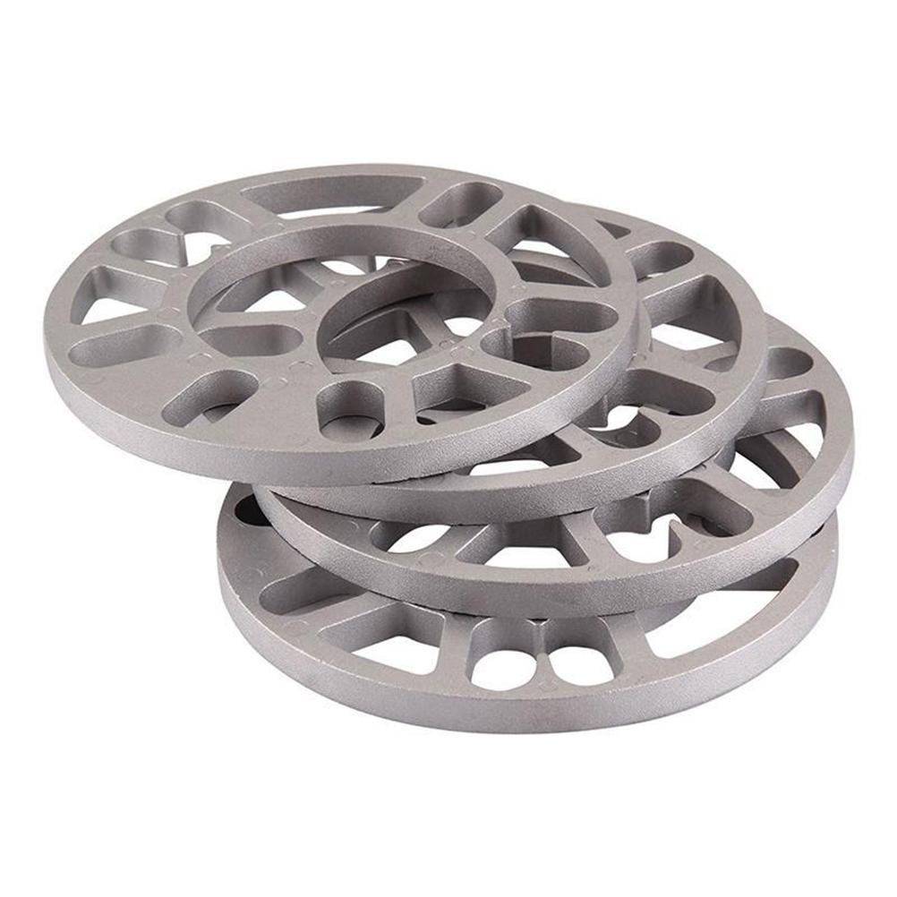 4 قطع عجلة الفواصل الحشوات لوحة 3 ملليمتر 5 ملليمتر 8 ملليمتر 10 ملليمتر عشيق ل 4x100 4x114.3 5x100 5x108 5x114.3 5x120 السيارات عجلة الفواصل