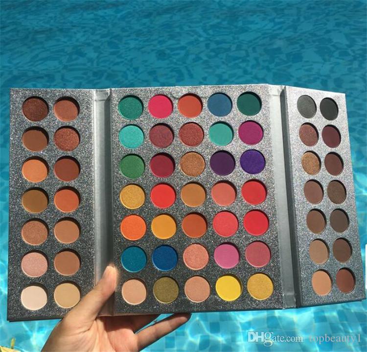 Güzellik Sırlı Makyaj Muhteşem Bana Göz Farı Paleti 63 Renk makyaj Paleti Büyüleyici Göz Farı Pigmentli Göz Farı Pudra